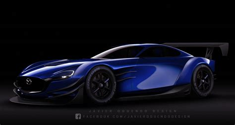 Mazda Rx-vision Super Gt Concept By Javieroquendodesign On