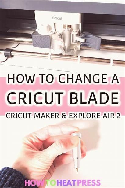 Cricut Blade Change Air Maker Blades Vinyl