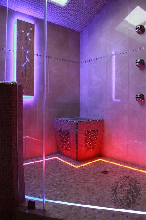 Shower Lighting Ideas Bathroom Tropical  Bamboo