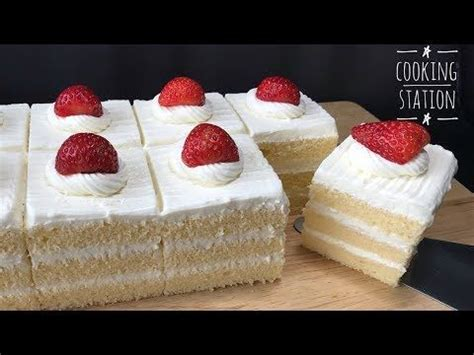 moist sponge cake  whipped