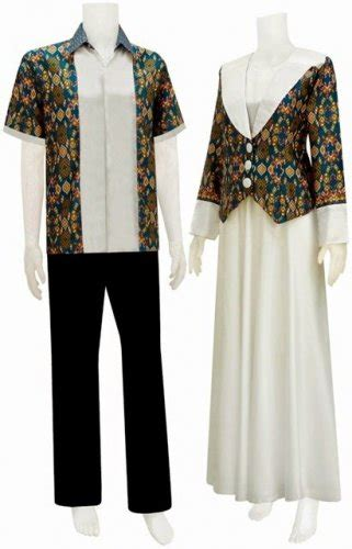 model baju kombinasi embos  batik tulisanviralinfo