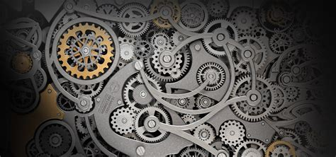 machine gear machine gear metal background image