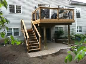 Stunning Raised Decking Designs Photos by Deck Plans Ideas Beautiful Second Story Deck Plans Home