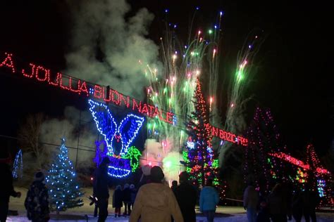 where to see christmas lights in calgary this weekend