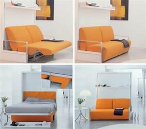 32 idees canape moderne pour le salon archzinefr With canape lit petite surface