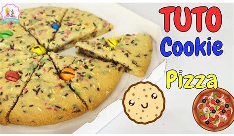 cuisine facile et originale recette pizza cookie facile et rapide