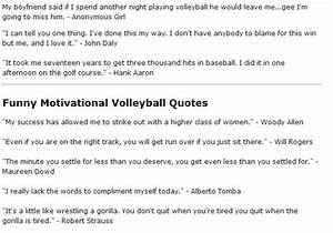 15 Must-see Fun... Volleyball Cheers Quotes