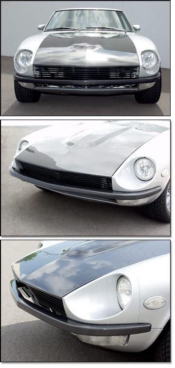 Datsun 240z Front Bumper by Carbon Fiber Front Bumper 70 72 240z 73 78 240z 260z 280z