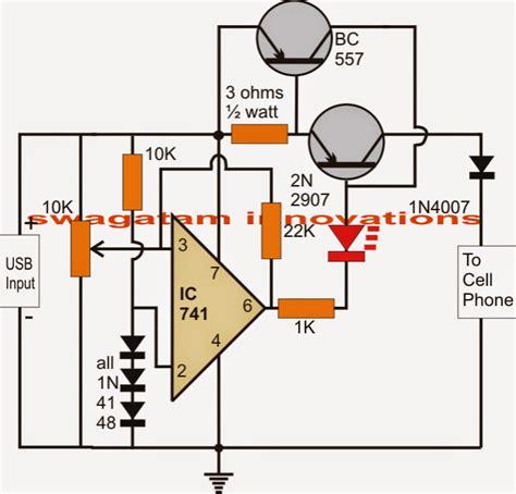 Secret Diagram Battery Charger Circuit Auto Cut Off