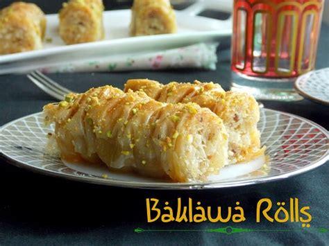 chhiwate ramadan cuisine marocaine baklawa rolls chhiwat ramadan le cuisine de samar