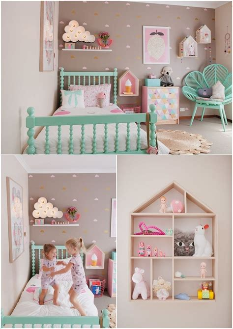 cute ideas  decorate  toddler girls room girl room