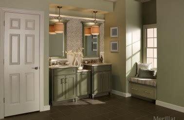 Thermofoil Kitchen Cabinets Vs Wood by Merillat Masterpiece Bathroom Cabinets Greensboro Nc