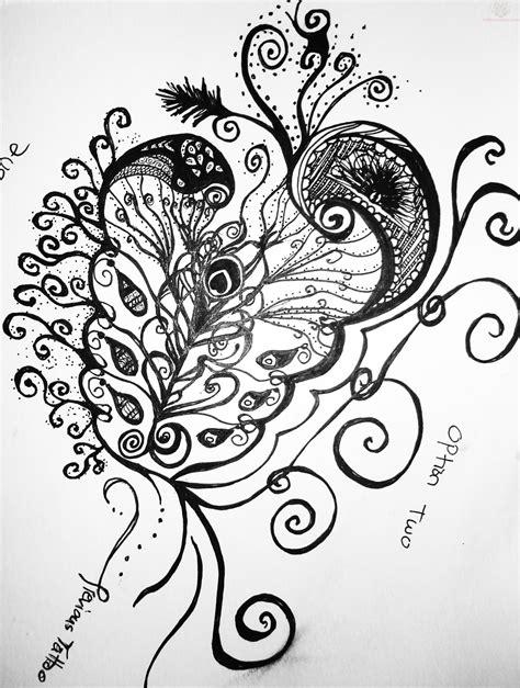 Paisley Pattern Tattoo Design