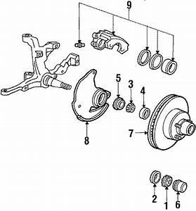Ford Ltd Crown Victoria Wheel Bearing Race  Suspension
