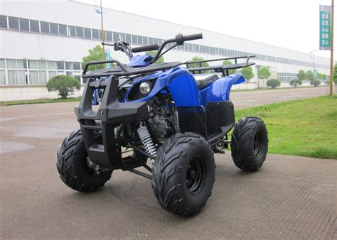 Motor Utility Blue Racing Atv Hydraulic Four Wheel For