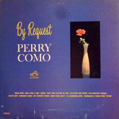 perry como by request perry como by request vinyl lp album mono discogs