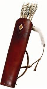 Legolas Back Quiver Deluxe royal back quiver