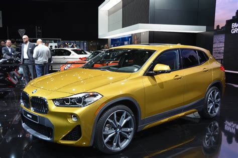 Bmw X2 Photo by Detroit 2018 Bmw X2 Gtspirit