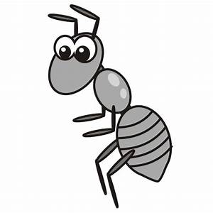 Cute Ant Clipart Black And White | www.pixshark.com ...