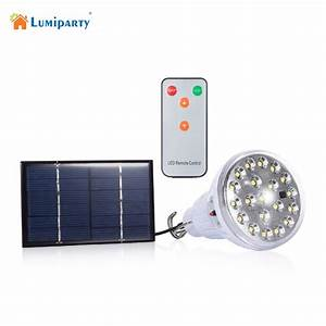 Indoor dimmable dc v led w remote control solar