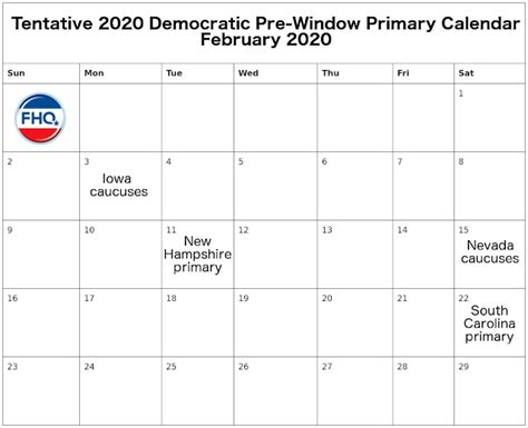 frontloading hq democrats chart pre window primary calendar