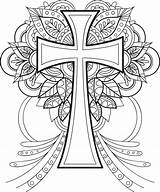 Cross Coloring Blessed sketch template