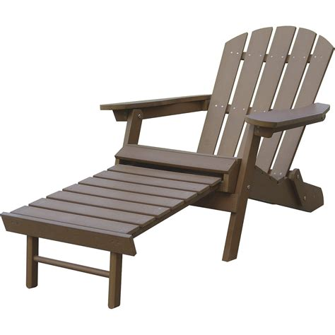 Adirondack Chair Ottoman Plans by Stonegate Designs Resin Adirondack Chair With Built In