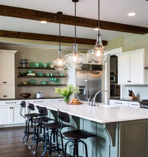 chic kitchen island lighting ideas reverb