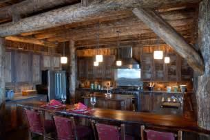 rustic cabin kitchen ideas yellowstone club rustic kitchen lohss