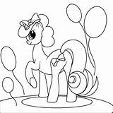 Coloring Pony Coloringbook Books sketch template