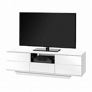 Tv Bank 150 Cm : tv bank amieka hochglanz wei schwarz 150 cm k nigstein online kaufen ~ Bigdaddyawards.com Haus und Dekorationen