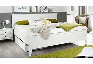 Bett Weiß 160x200 Holz : bett rosenheim schlafzimmerbett bettgestell doppelbett in wei 160x200 ebay ~ Markanthonyermac.com Haus und Dekorationen