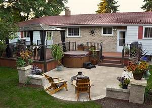 4 tips to start building a backyard deck backyard deck With deck and patio ideas for small backyards