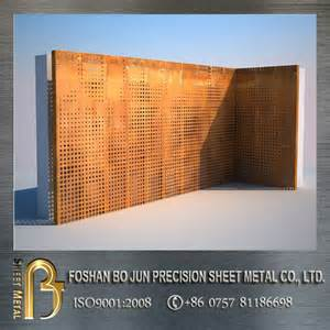 Perforated Metal Bench by Metal Architecture Perforated Corten Steel Panels Buy