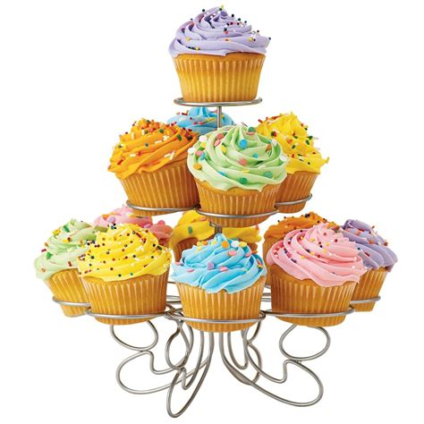 Cupcake Stand For 100 Cupcakes by Wilton Fancy Wire Birthday Cupcakes And More Stand Ebay