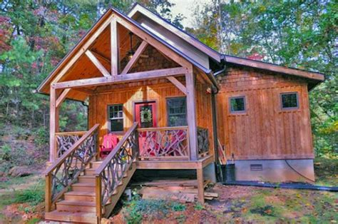 timber frame cabin tiny homes you can get shipped to your door