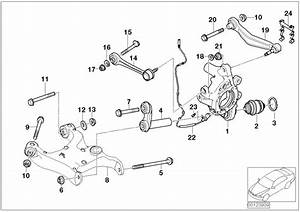 Bmw 645ci Eccentric Bolt  M10x66 Zns3  Suspension  Axle