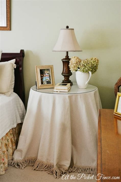 Bedroom Table Skirts by My Favorite Room At The Picket Fence With