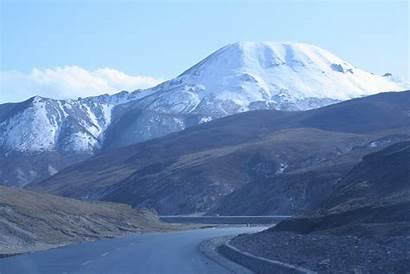 Qilian Mountains Mountain Pass China Range Landmarks