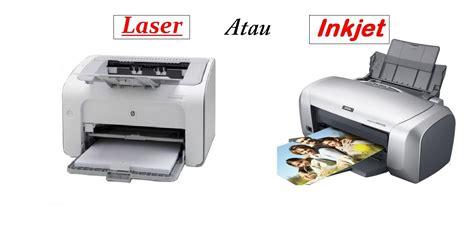 pilih printer inkjet  laser dimensidatacom