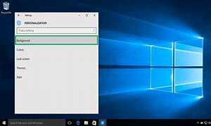 How to Change Your Desktop Background in Windows 10