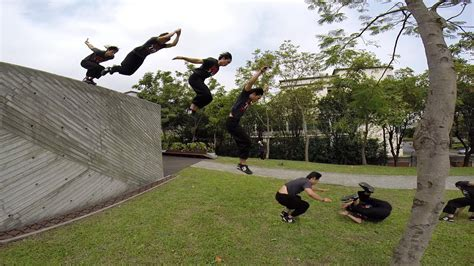 parkour roll youtube