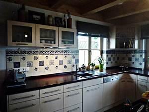 Wandfliesen Für Küche : originelle bunte fliesen aus mexiko f r die k che von mexambiente e k homify ~ Sanjose-hotels-ca.com Haus und Dekorationen