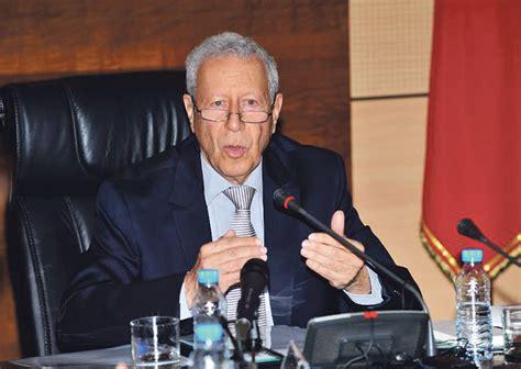رشيد بلمختار وزير التربية الوطنية  الأخبار جريدة