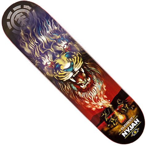 element nyjah huston smoke signal deck in stock at spot skate shop