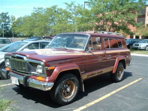 jeep eagle for sale 1979 jeep cherokee golden eagle 4 4 bring a trailer