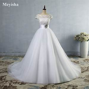 white ivory beading cap sleeve lace wedding dress With robe de cocktail combiné avec bracelet 3 ors