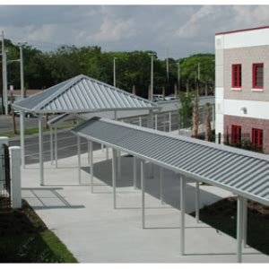 Walkway Covers, Pitched Roof  Perfection Architectural