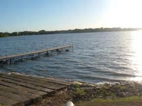 Waseca MN Clear Lake Fishing Dock