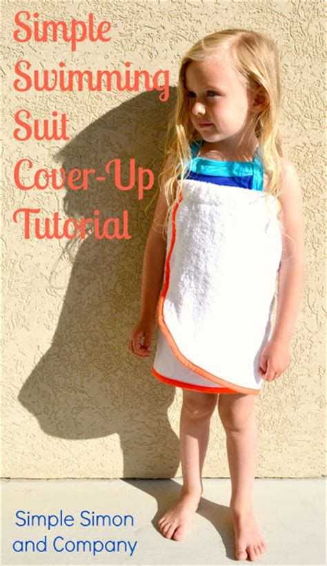 Easy Swimming Suit Cover-Up Tutorials - Simple Simon and Company